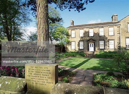 Presbytère de Bronte, Haworth, Yorkshire, Angleterre, Royaume-Uni