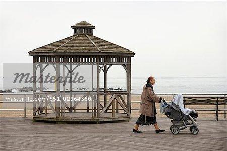 Broadwalk in Coney Island,New York City,New York,USA