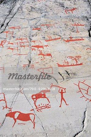 Prehistoric Rock Carvings, Alta, Norway