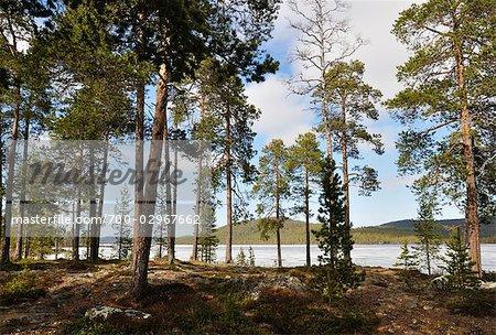 Inari-See, Lappland, Finnland