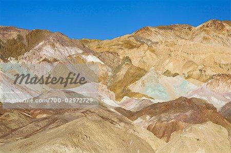 Badlands, Death Valley National Park, Californie, USA