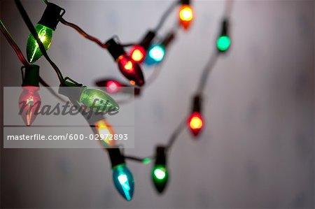 Guirlandes de lumières de Noël