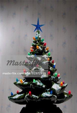 Sapin de Noël de miniature