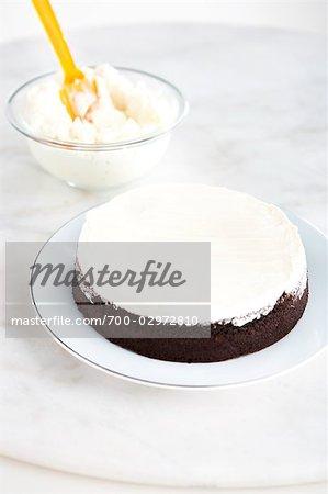 Baking a Chocolate Cake