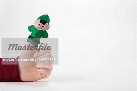 Poupée décorative Elf