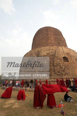 Dhamekh Stupa, Sarnath, Uttar Pradesh, India