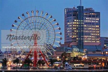 Grande roue à Meriken Park, Kobe, Hyogo, Kansai, Japon