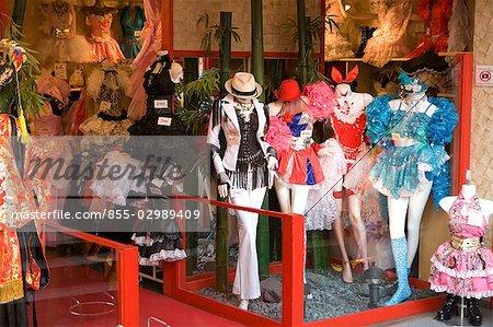 Une boutique de mode à Harajuku, Tokyo, Japon