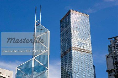 Cheung Kong Building & Bank of China Building, Central, Hong Kong