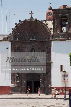 Templo de Nuestra Señora de la Salud, une église de San Miguel de Allende (San Miguel), état de Guanajuato, au Mexique, en Amérique du Nord