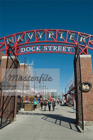 Navy Pier, Chicago, Illinois, États-Unis d'Amérique, l'Amérique du Nord