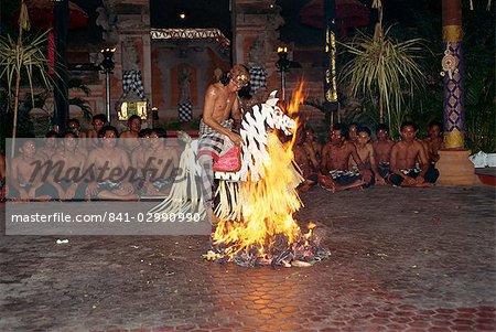 Fire dance, Bali, Indonesia, Southeast Asia, Asia