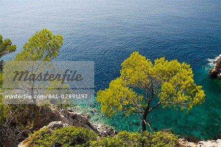 Près des îles Agnotas, Skopelos, Sporades, îles grecques, Grèce, Europe