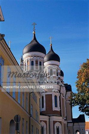 Alexander Nevsky Cathedral, Old Town, UNESCO World Heritage Site, Tallinn, Estonia, Baltic States, Europe