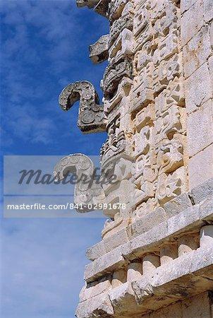 Quadrilatère des nonnes au site maya de Uxmal, Yucatan, Mexique Amerique centrale