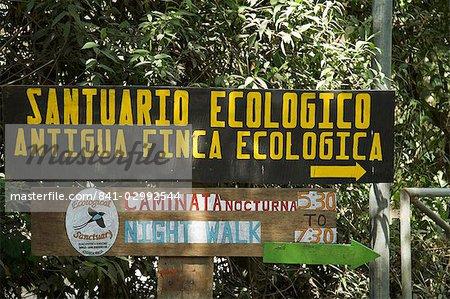 Private eco reserve, Monteverde, Costa Rica, Central America