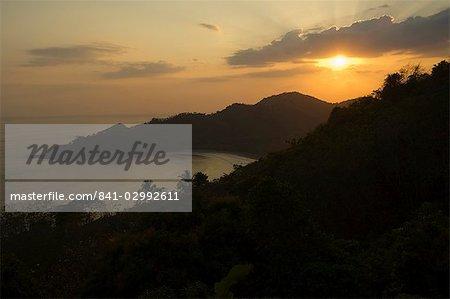 Sunset over Punta Islita, Nicoya Pennisula, Costa Rica, Central America
