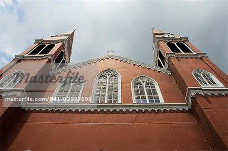 Iglesa de Grecia church made in Europe of iron, Grecia, Central Highlands, Costa Rica, Central America