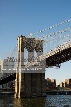 Brooklyn Bridge, New York City, New York, United States of America, North America