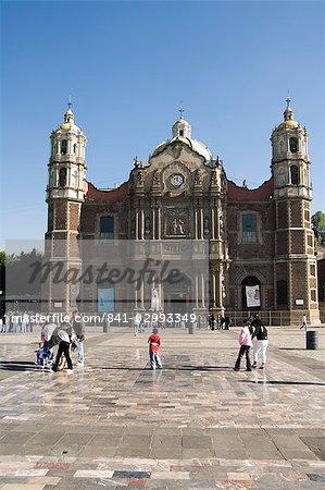 The Antigua Basilica adjacent to the Basilica de Guadalupe, Mexico City, Mexico, North America
