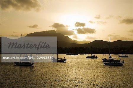 Port de Mindelo, îles de Sao Vicente, Cap-vert, Afrique