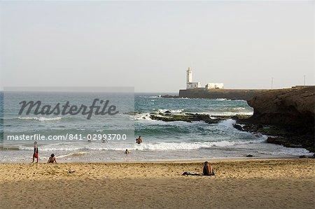 Beach, Praia, Santiago, Cape Verde Islands, Africa