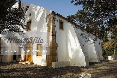 Église à Cidade Velha, îles de Santiago, Cap-vert, Afrique