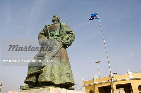 The old city of Praia on the Plateau, Praia, Santiago, Cape Verde Islands, Africa