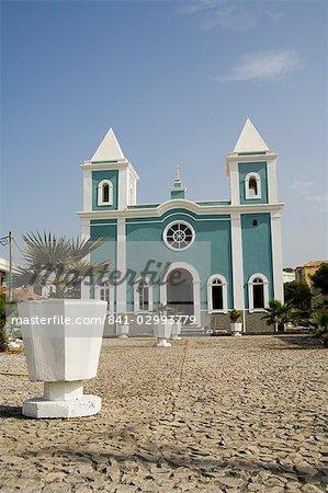 Église catholique romaine, Sao Filipe, Fogo (feu), îles du Cap-vert, Afrique