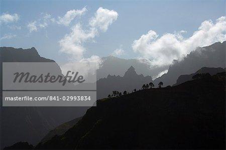 Près de Corda, îles de Santo Antao, Cap-vert, Afrique