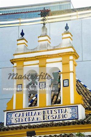 Le bull ring, Séville, Andalousie, Espagne, Europe à proximité de El Arenal