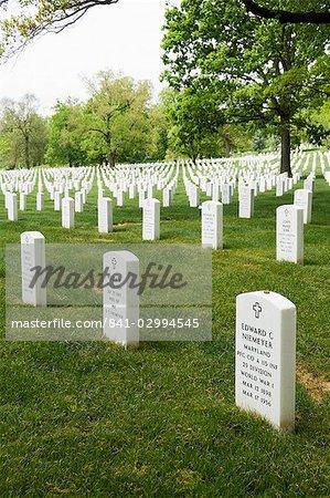 Cimetière National d'Arlington, Arlington, Virginia, États-Unis d'Amérique, l'Amérique du Nord