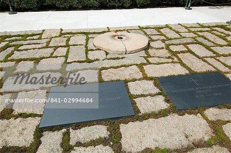 Grab Von John F Kennedy Und Jackie Kennedy In Arlington