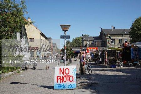 Christiania, Christianshavn, Copenhague, Sealand Nord, Danemark