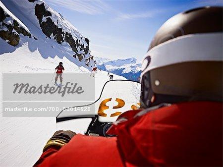 Whistler Mountain Ski Patrol, Whistler, Colombie-Britannique, Canada