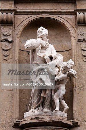 Statue, Florenz, Toskana, Italien