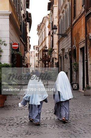 Straßenszene, Rom, Italien