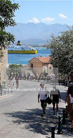 France, Corse, Calvi.