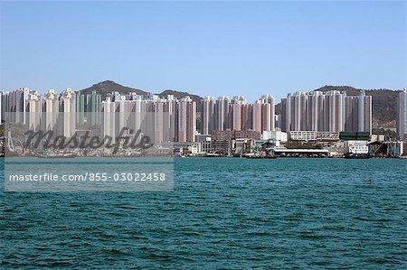Skyline de Sai Wan Ho, Hong Kong