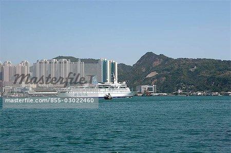Skyline de Lei Yu Mun, Hong Kong