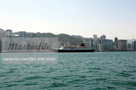 Skyline de Quarry Bay, Hong Kong