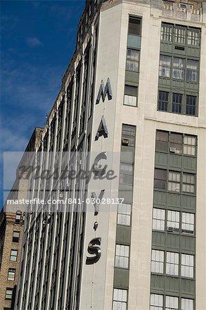 Amérique du Nord de Macy, Manhattan, New York, New York État, États-Unis d'Amérique,