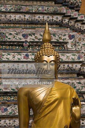 Wat Arun (Temple de l'aube), Bangkok, Thaïlande, Asie du sud-est, Asie