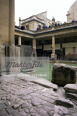 The Roman Baths, Bath, UNESCO World Heritage Site, Avon, England, United Kingdom, Europe