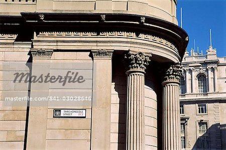 Threadneedle Street, City of London, Londres, Royaume-Uni, Europe