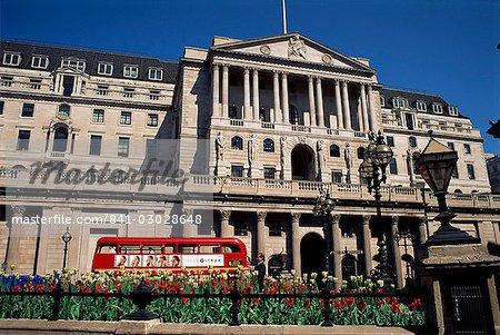 La Banque d'Angleterre, City of London, Londres, Royaume-Uni, Europe