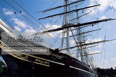 Die Cutty Sark, Greenwich, London, England, Vereinigtes Königreich, Europa
