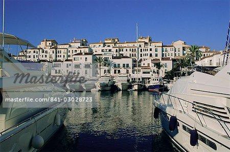 Puerto Banús, Andalousie (Andalousie), Espagne, Europe