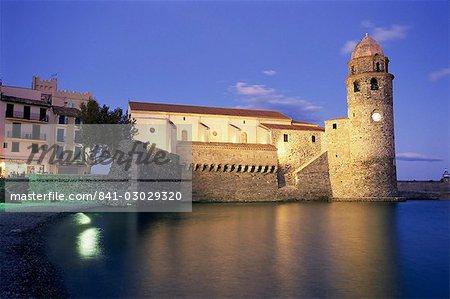 Eglise Notre Dame des Anges, Collioure, Roussillon, France, Europe