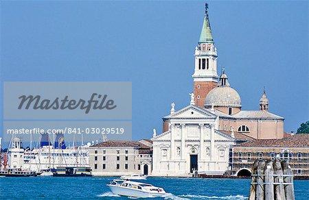 Église San Giorgio Maggiore, Venise, patrimoine mondial de l'UNESCO, Veneto, Italie, Europe
